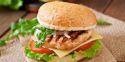 Chickenburger - 8,90 €